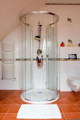 circular shower stall